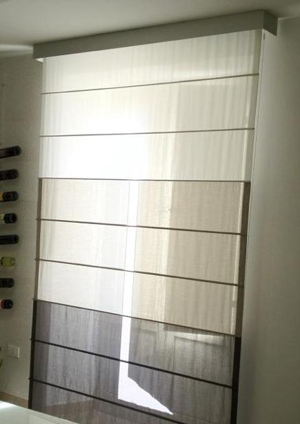 Tenda a pacchetto da interni arredo tendaggi for Tende per finestre da interno