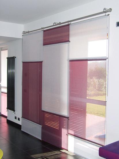 Tenda a pannelli da interno arredo tendaggi for Tende pannello moderne