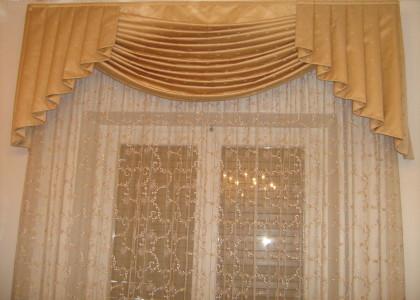 Tenda da interno con drappo