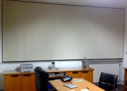 Tende verticali da ufficio oscurante ignifuga